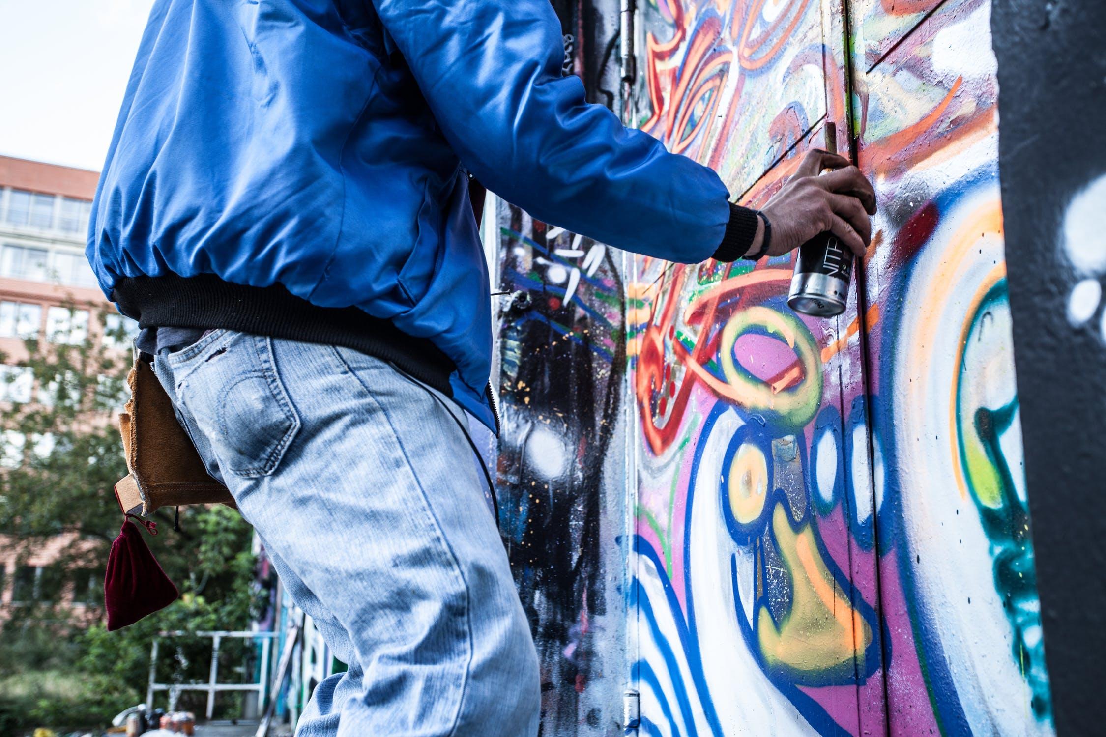 graffitirens, hurtigt og effektivt